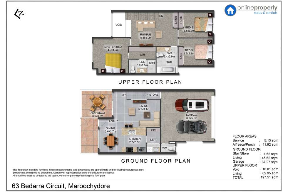 Floorplan of Homely house listing, 63 Bedarra Circuit, Maroochydore QLD 4558