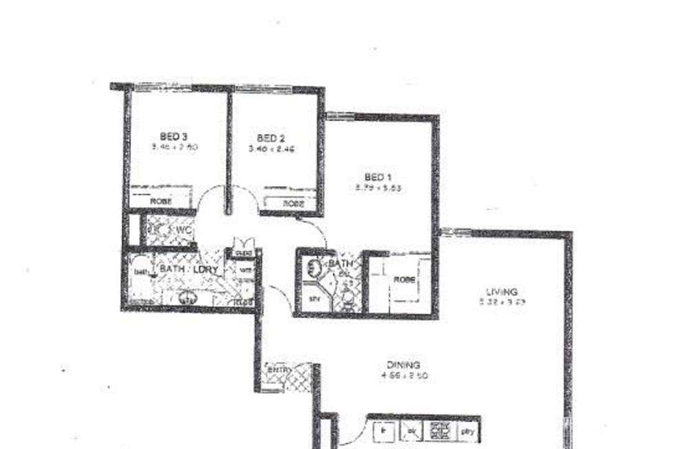 Floorplan of Homely unit listing, 4a/25 Victoria Avenue, Claremont WA 6010