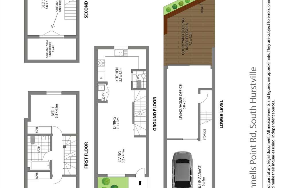 Floorplan of Homely apartment listing, 9/14-18 Connells Point Road, South Hurstville NSW 2221