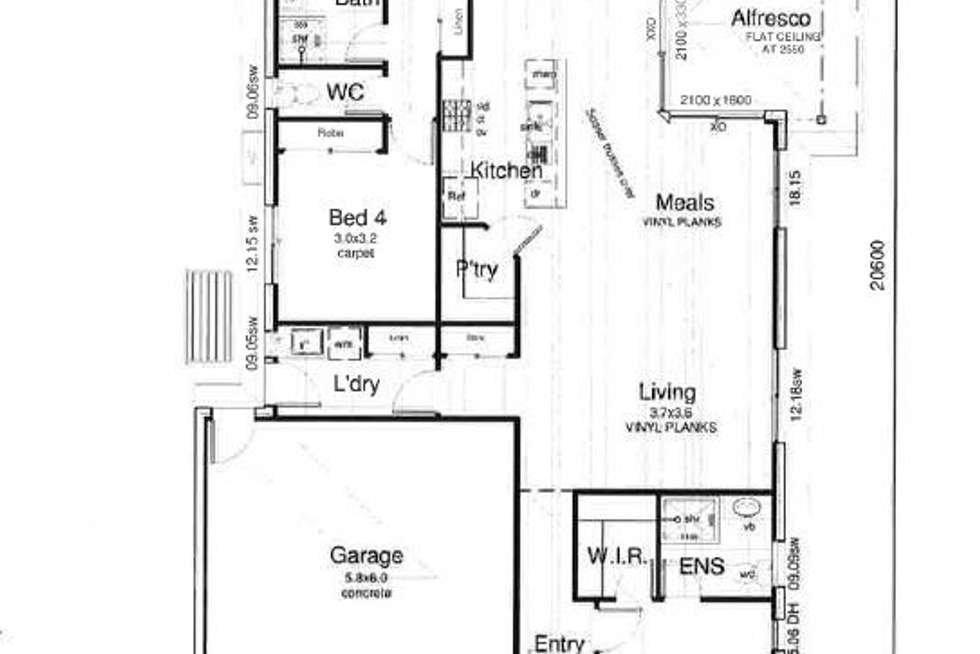 Floorplan of Homely house listing, 3 Dent Crescent, Burpengary East QLD 4505