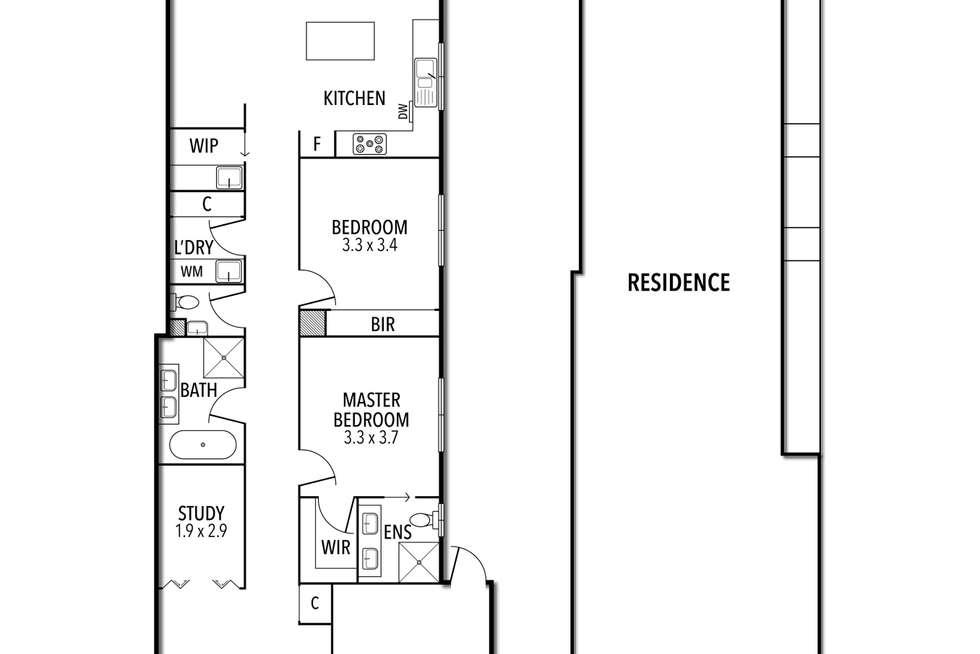 Floorplan of Homely house listing, 9A Henry Street, Keilor East VIC 3033