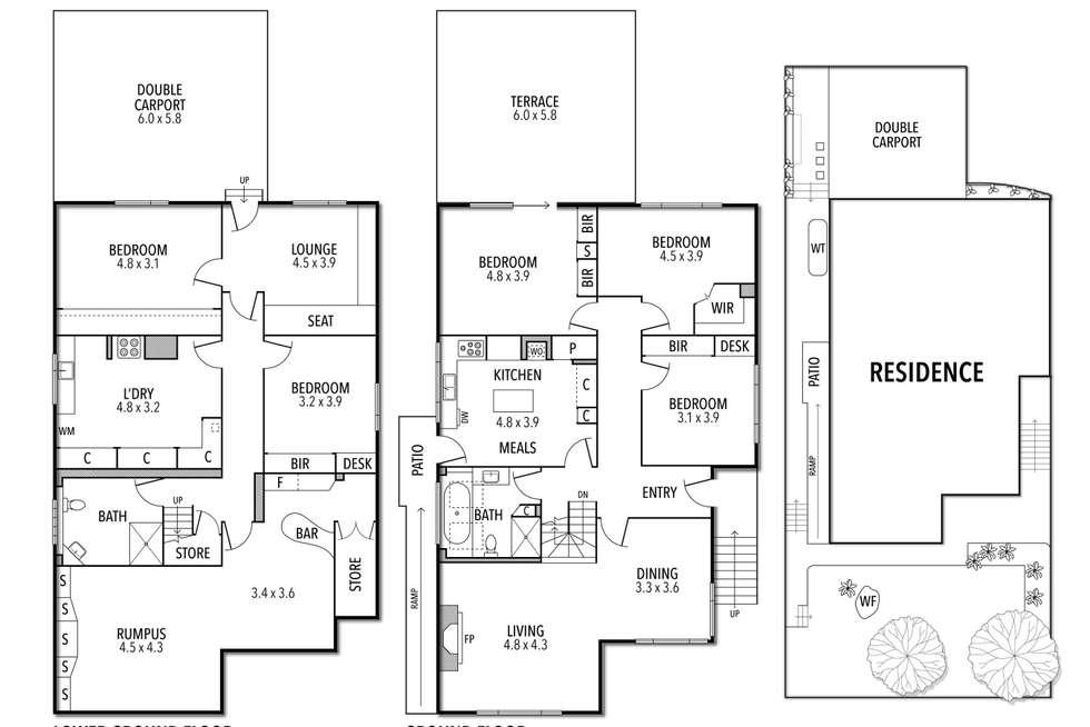 Floorplan of Homely house listing, 1/23 Hamilton Street, Niddrie VIC 3042