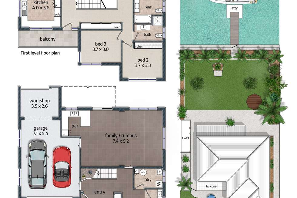Floorplan of Homely house listing, 30 Castlereagh Crescent, Sylvania Waters NSW 2224