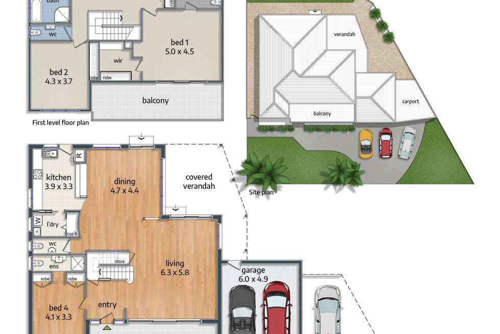 Floorplan of Homely house listing, 3 Ord Crescent, Sylvania Waters NSW 2224