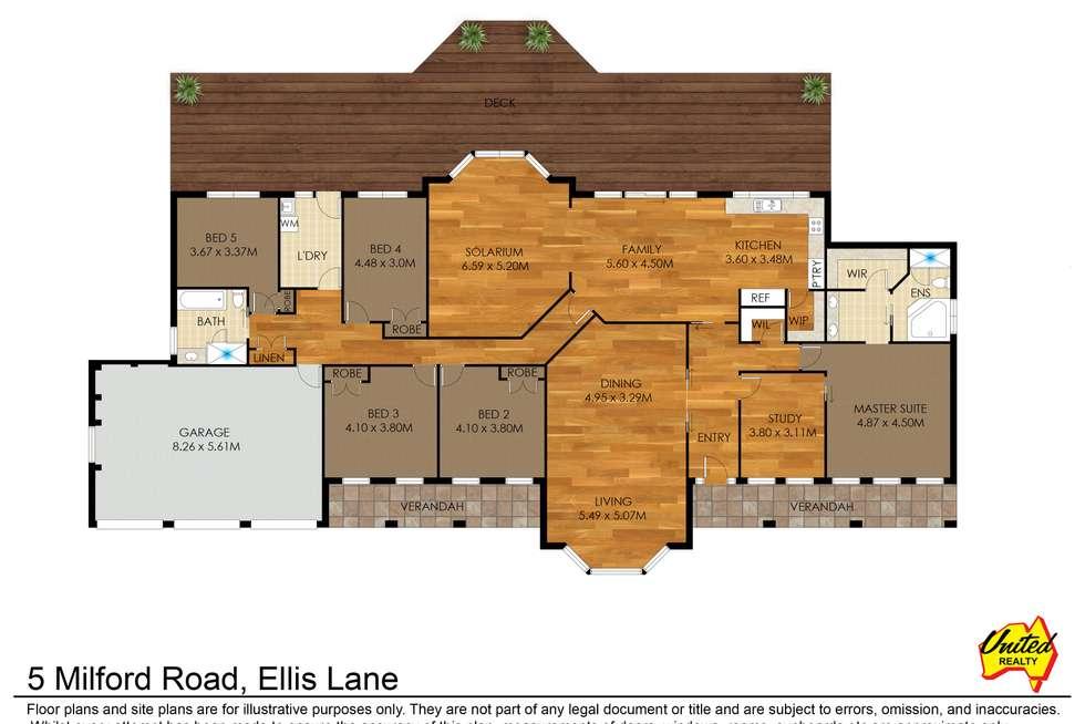 Floorplan of Homely house listing, 5 Milford Road, Ellis Lane NSW 2570