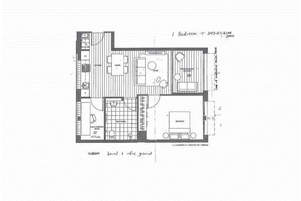 Floorplan of Homely apartment listing, 112/268-270 Liverpool Road, Ashfield NSW 2131