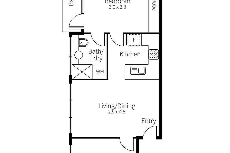 Floorplan of Homely apartment listing, 17/2 Armadale Street, Armadale VIC 3143