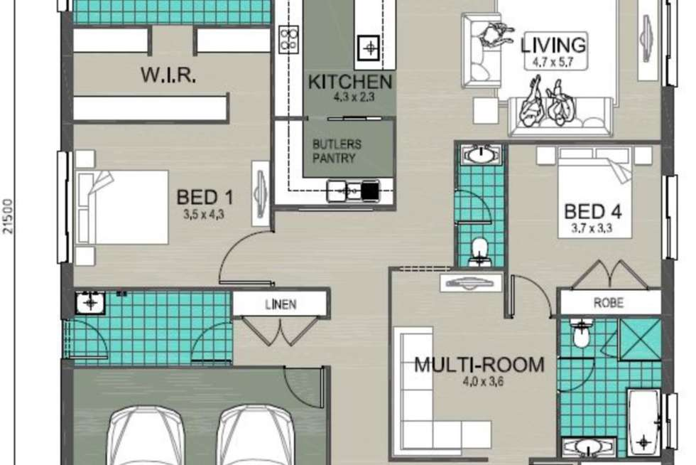 Floorplan of Homely house listing, No. 7 Dillies Lane, Tahmoor NSW 2573