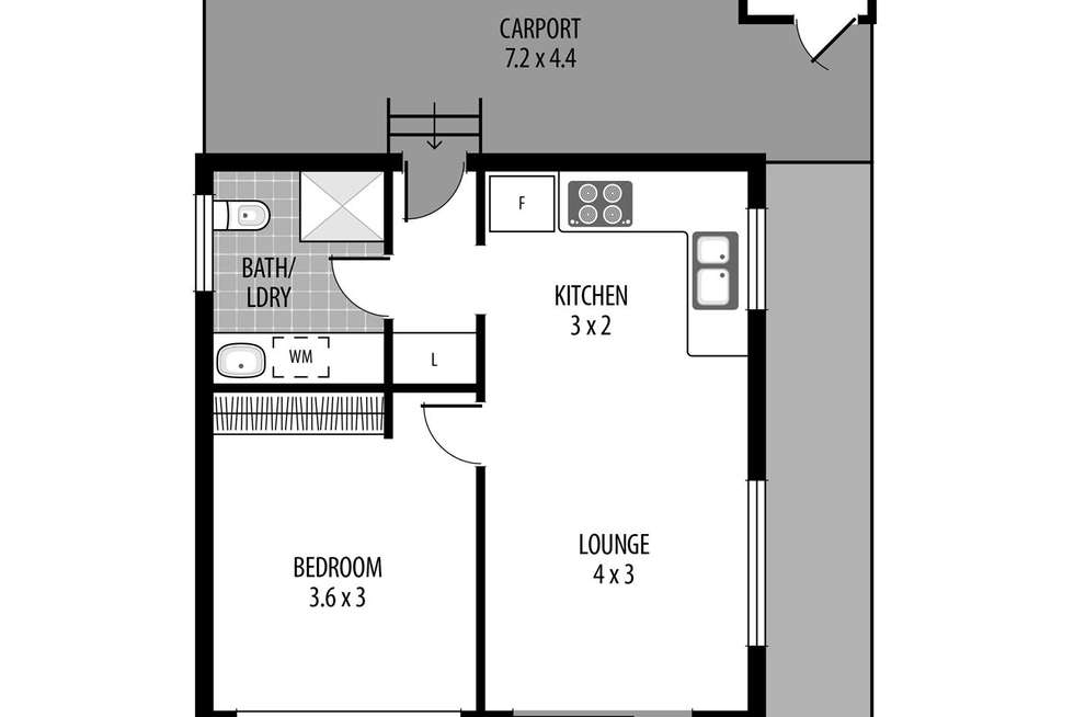 Floorplan of Homely house listing, 144/57 Empire Bay Drive, Kincumber NSW 2251