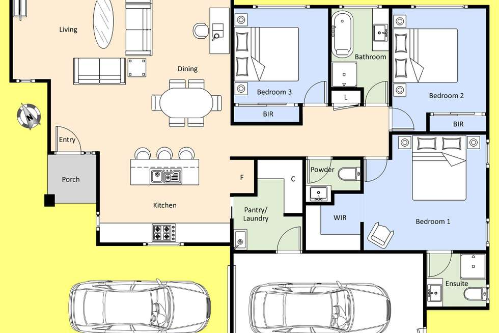 Floorplan of Homely unit listing, 6/68 Gowrie Street, Glenroy VIC 3046