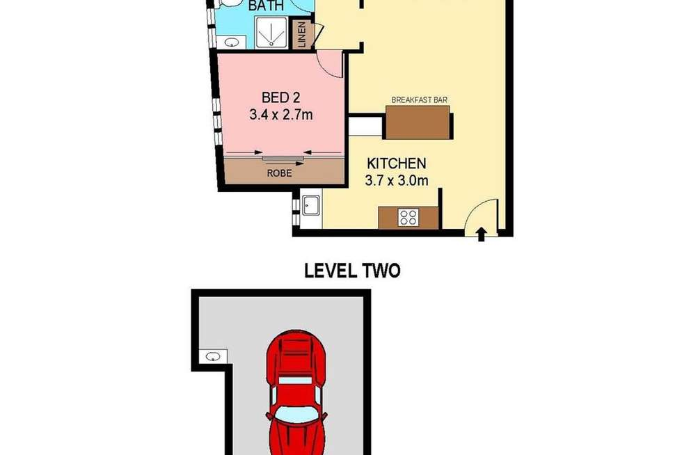 Floorplan of Homely apartment listing, 9/107 Alison Rd, Randwick NSW 2031