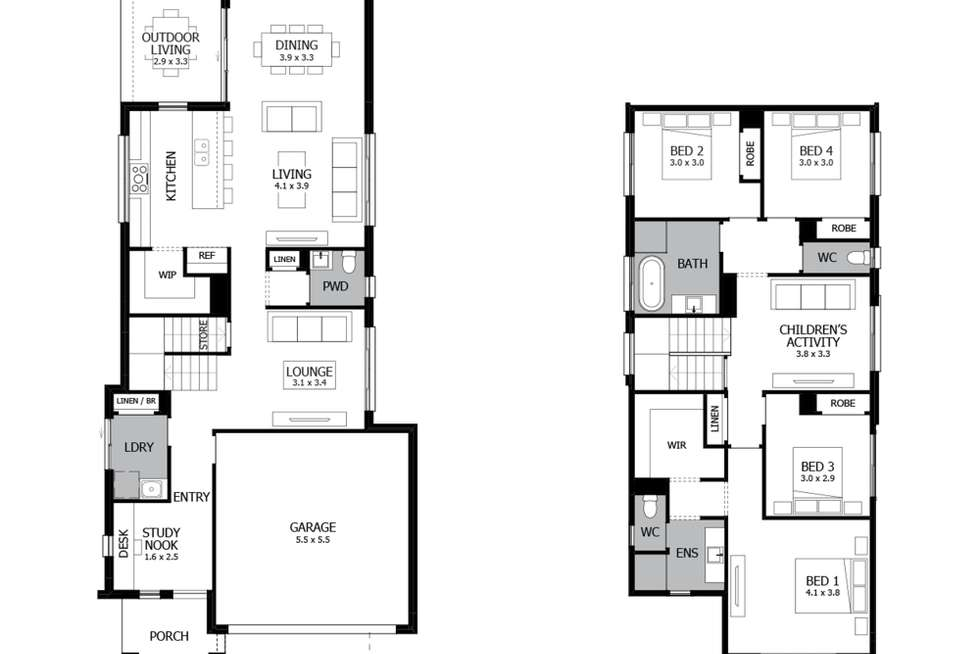 Floorplan of Homely house listing, Lot 16 Proposed Rd, Leppington NSW 2179