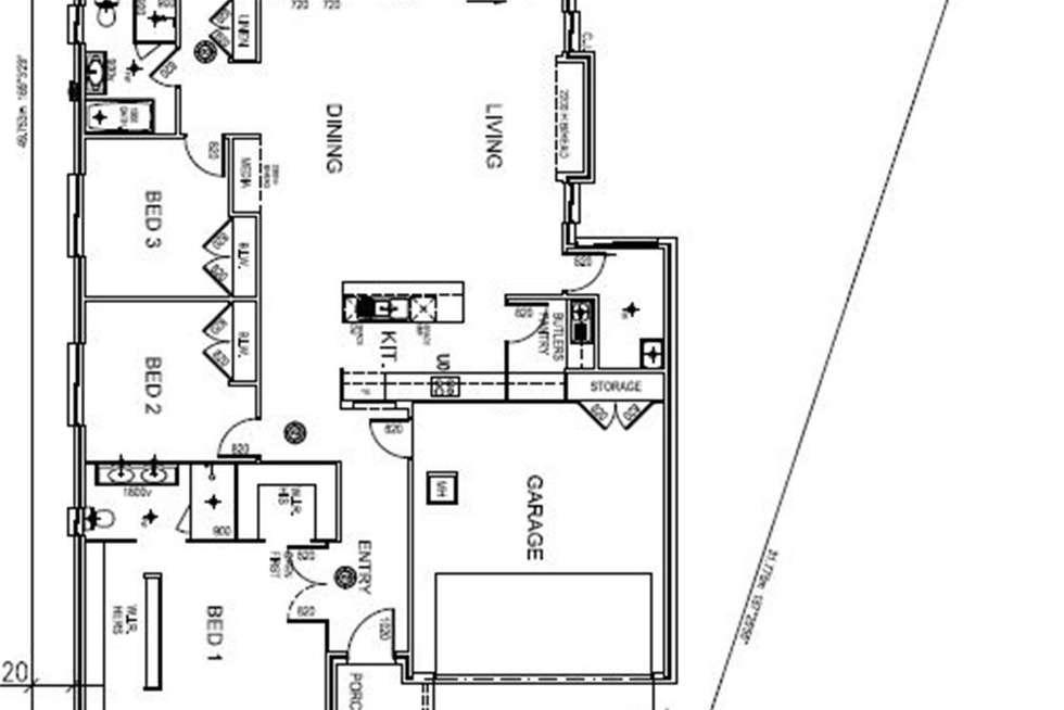 Floorplan of Homely house listing, Lot 36 Grey Box Road, Tahmoor NSW 2573