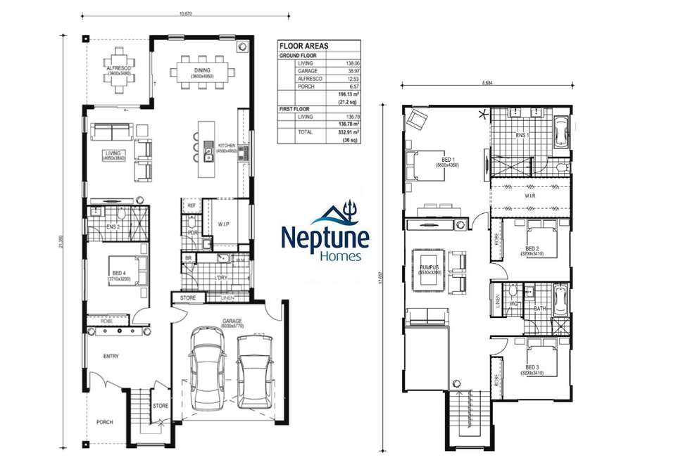 Floorplan of Homely house listing, Lot 8 Lillium Street, Rochedale QLD 4123