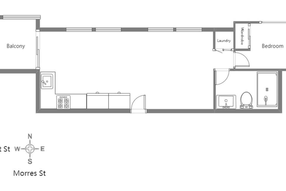 Floorplan of Homely apartment listing, 211/16 Bent Street, Bentleigh VIC 3204