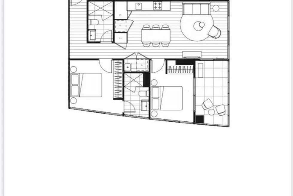 Floorplan of Homely apartment listing, 1005/52-54 o'sullivan road, Glen Waverley VIC 3150