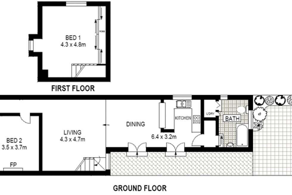 Floorplan of Homely house listing, 137 Buckland Street, Alexandria NSW 2015
