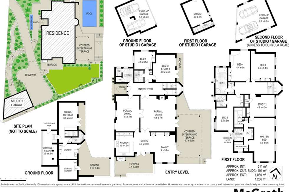 Floorplan of Homely house listing, 1A Bunyula Road, Bellevue Hill NSW 2023