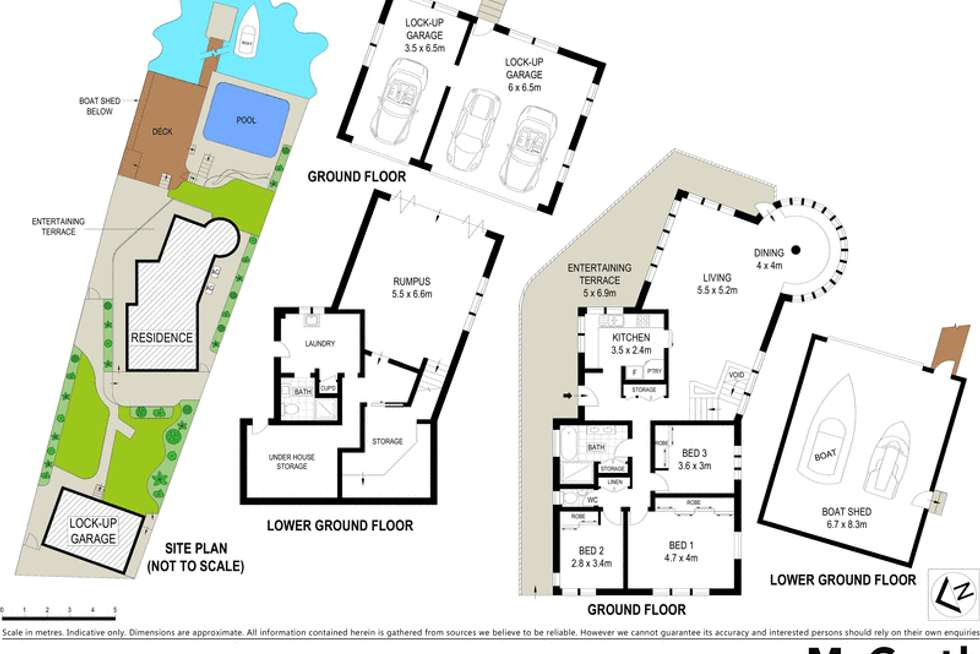 Floorplan of Homely house listing, 26 Bowden Crescent, Connells Point NSW 2221