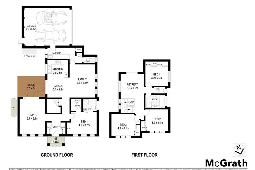Floorplan of Homely townhouse listing, 1/24 Illuka Crescent, Mount Waverley VIC 3149