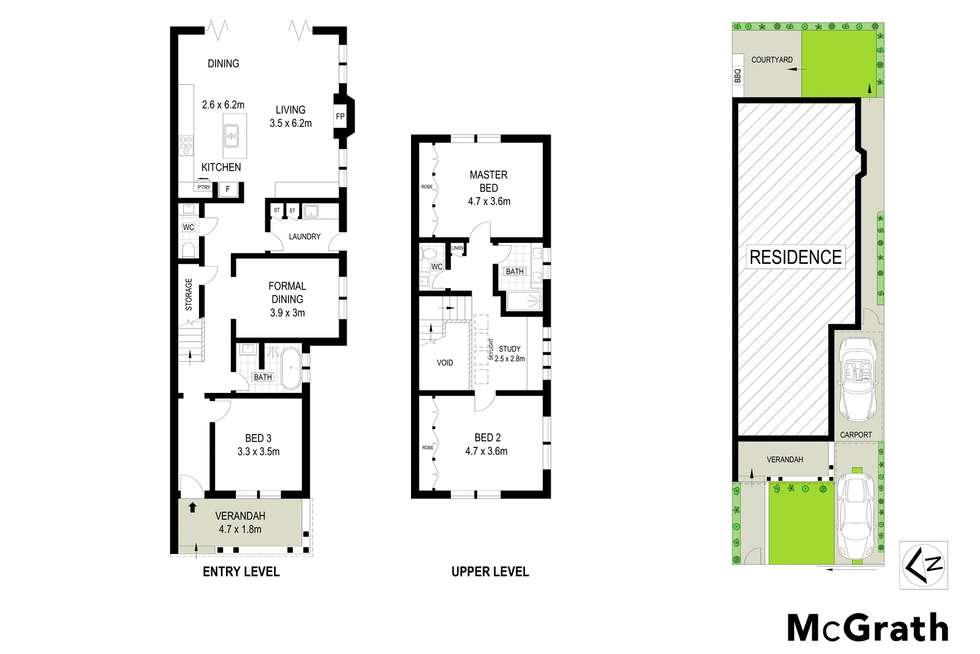 Floorplan of Homely house listing, 1 Rosebery Street, Mosman NSW 2088