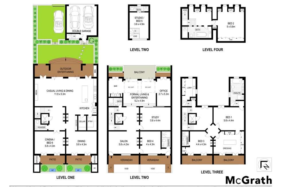 Floorplan of Homely house listing, 124-126 Paddington Street, Paddington NSW 2021