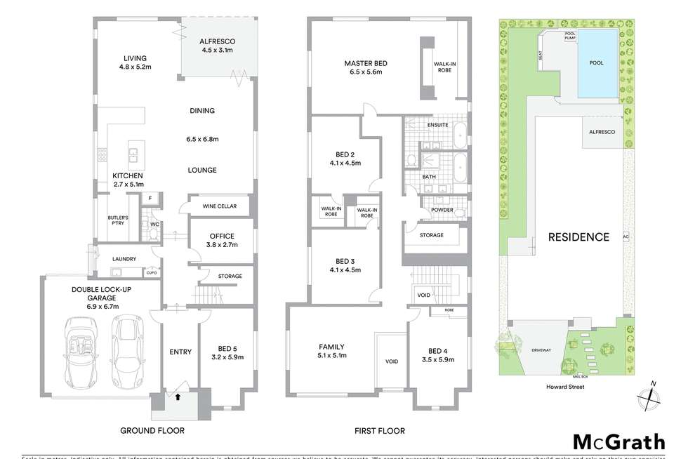 Floorplan of Homely house listing, 35 Howard Street, Grange QLD 4051