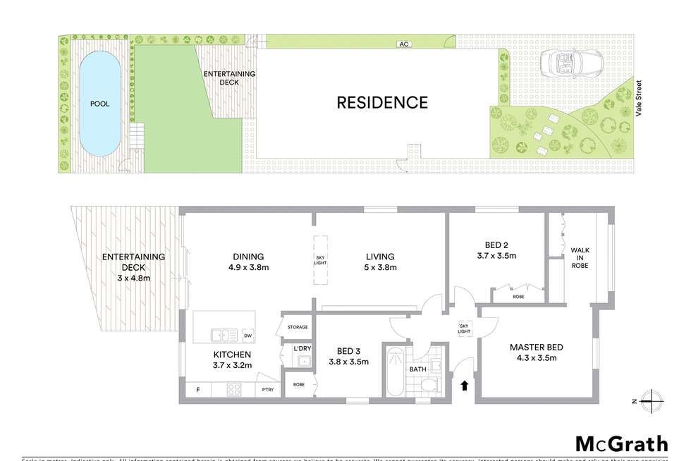 Floorplan of Homely house listing, 14 Vale Street, Clovelly NSW 2031
