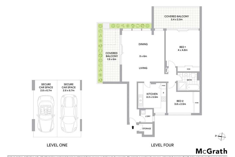Floorplan of Homely apartment listing, 27/110 Cascade Street, Paddington NSW 2021