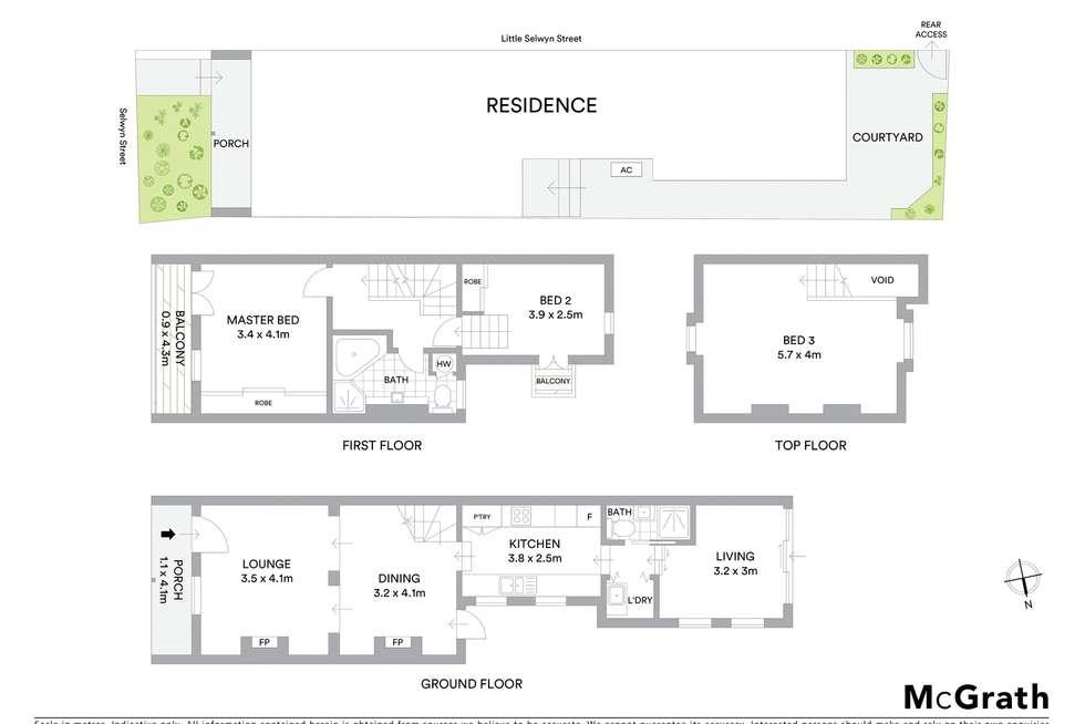 Floorplan of Homely house listing, 19 Selwyn Street, Paddington NSW 2021