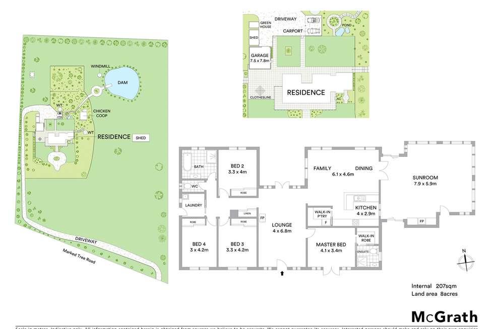 Floorplan of Homely house listing, 457 Marked Tree Road, Gundaroo NSW 2620