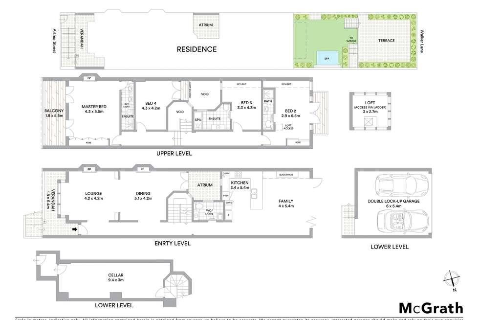 Floorplan of Homely house listing, 26 Arthur Street, Lavender Bay NSW 2060