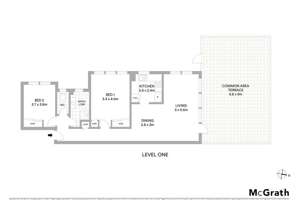 Floorplan of Homely apartment listing, 1/859 New South Head Road, Rose Bay NSW 2029