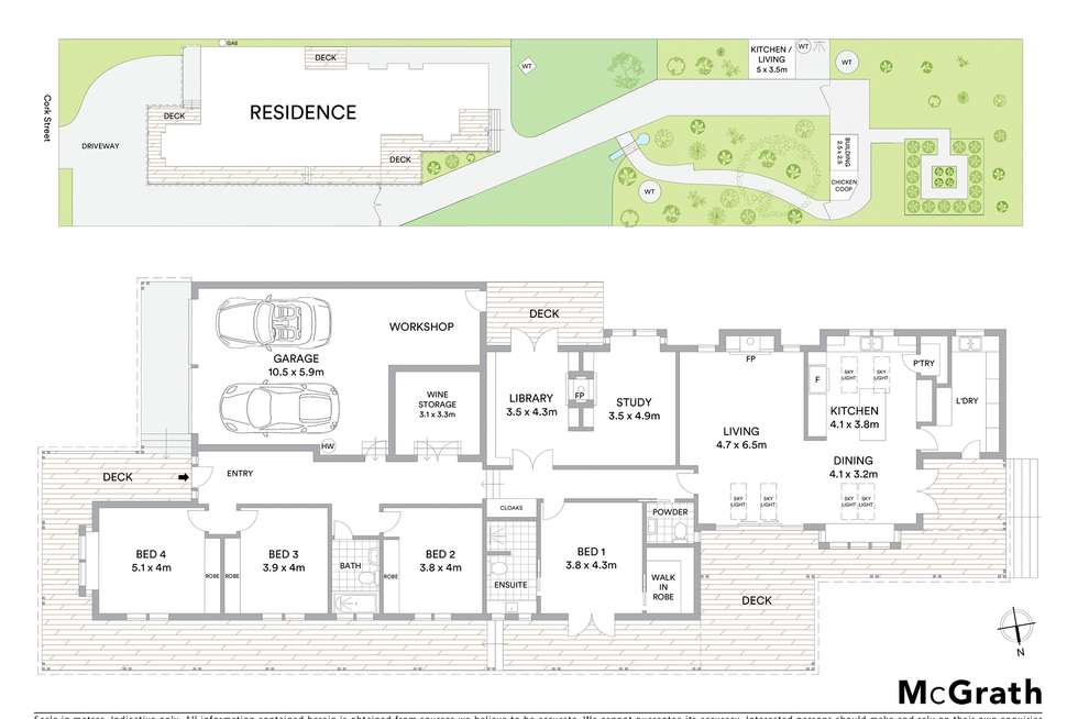 Floorplan of Homely house listing, 50 Cork Street, Gundaroo NSW 2620