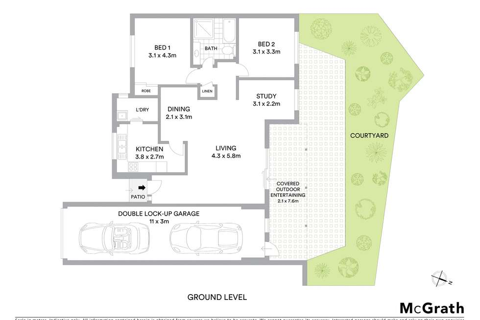 Floorplan of Homely townhouse listing, 5/20 Pennant Street, Castle Hill NSW 2154