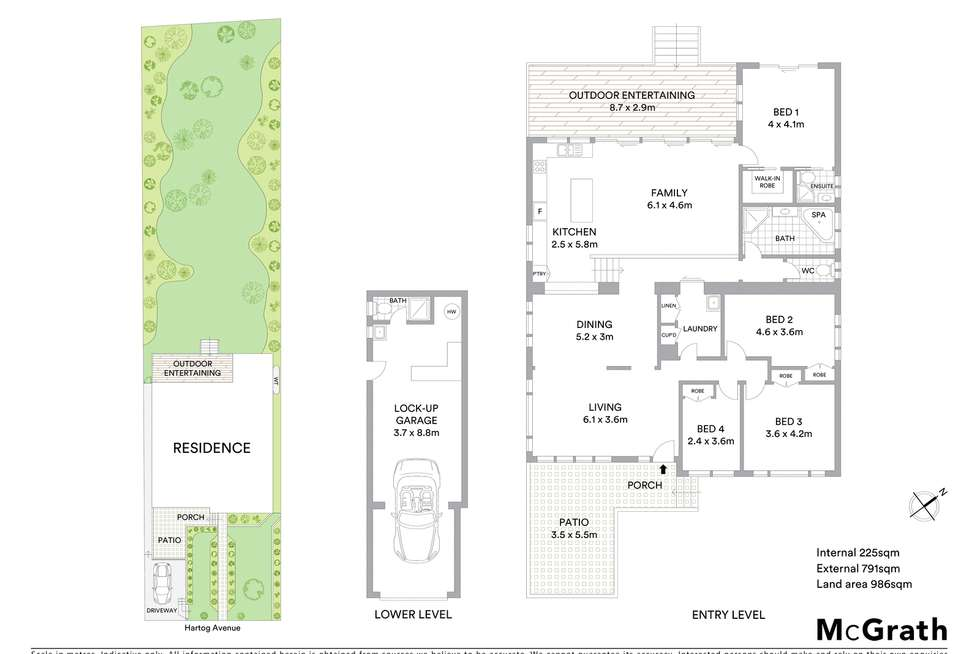 Floorplan of Homely house listing, 10 Hartog Avenue, Lake Munmorah NSW 2259