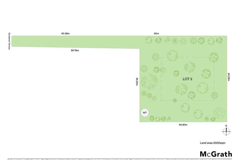 Floorplan of Homely residentialLand listing, Proposed Lot 2/11 Gundaroo Terrace, Gundaroo NSW 2620