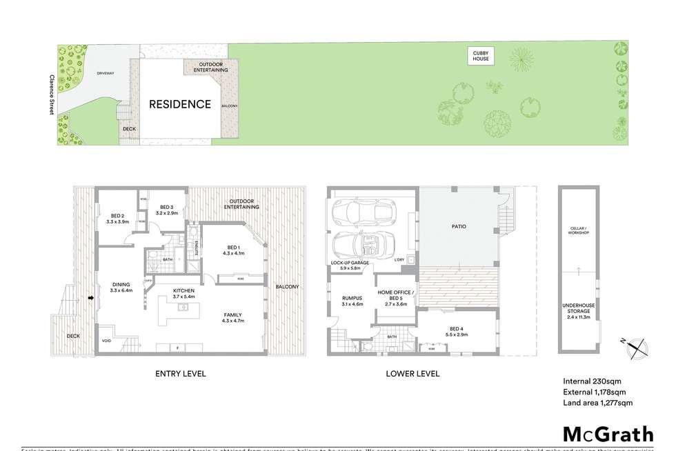 Floorplan of Homely house listing, 11 Clarence Street, Lake Munmorah NSW 2259