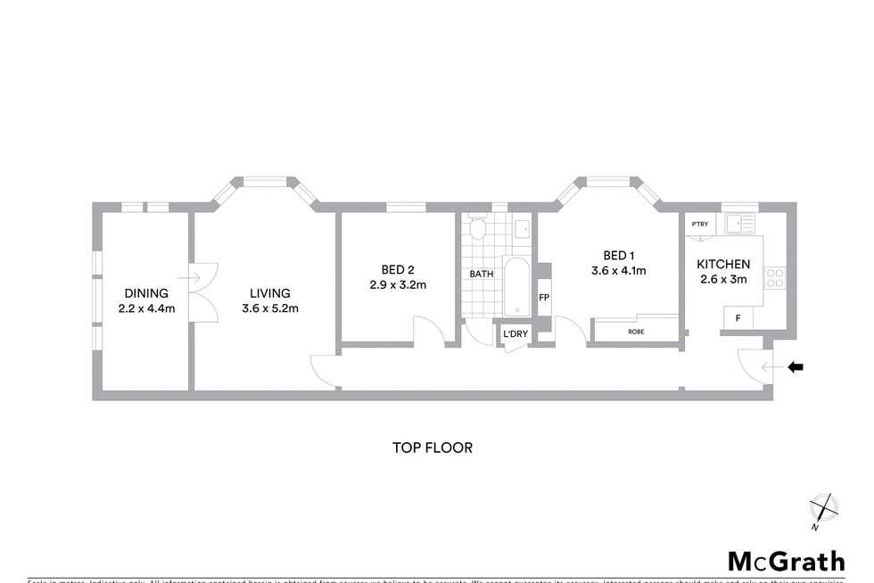 Floorplan of Homely unit listing, 8/1 Latimer Road, Bellevue Hill NSW 2023