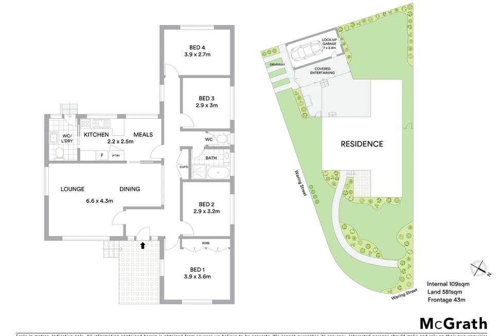 Floorplan of Homely house listing, 84 Waring Street, Marsfield NSW 2122