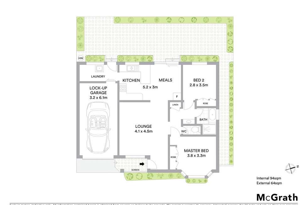 Floorplan of Homely house listing, 4/15 Oxford Street, New Lambton NSW 2305