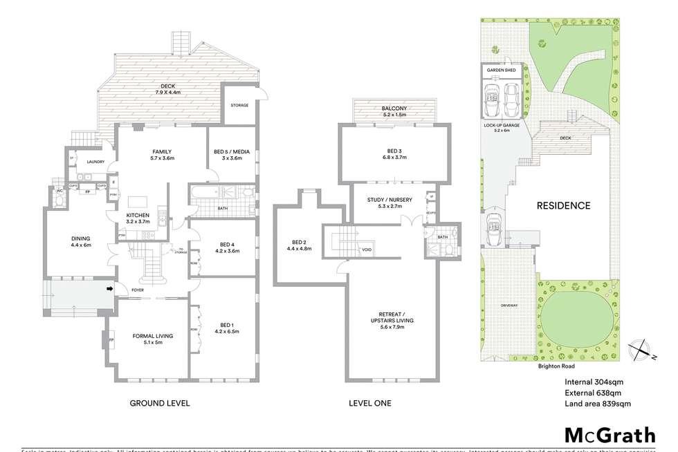 Floorplan of Homely house listing, 247 Brighton Road, Elwood VIC 3184
