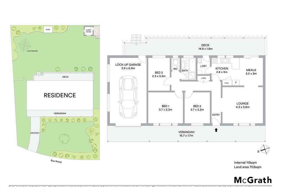 Floorplan of Homely house listing, 6 Roe Street, Moss Vale NSW 2577