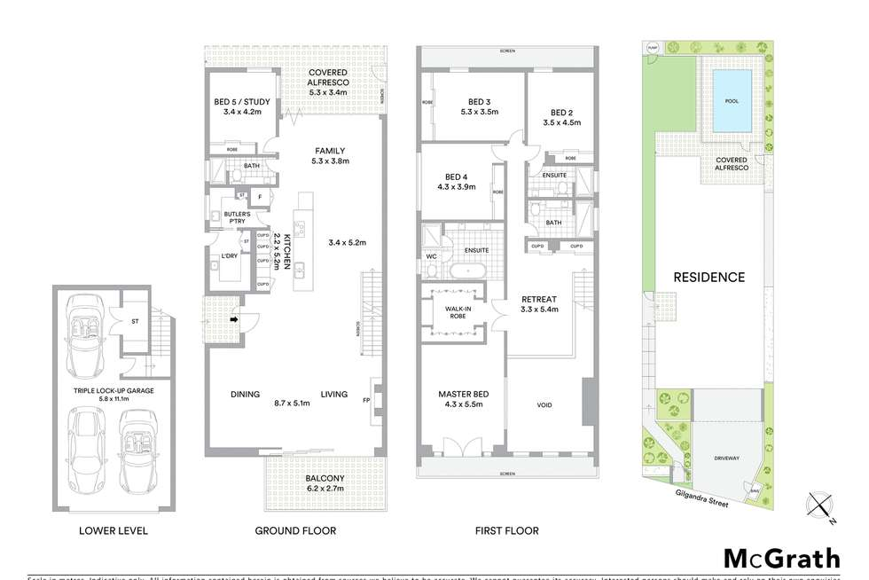 Floorplan of Homely house listing, 38 Gilgandra Street, Indooroopilly QLD 4068