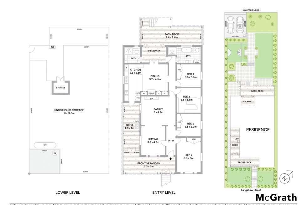 Floorplan of Homely house listing, 77 Langshaw Street, New Farm QLD 4005
