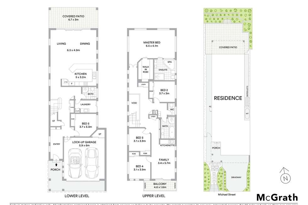 Floorplan of Homely house listing, 20 Michael Street, Bulimba QLD 4171