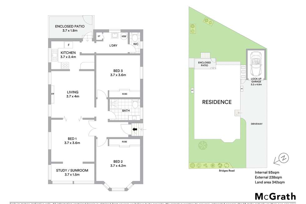 Floorplan of Homely house listing, 124 Bridges Road, New Lambton NSW 2305