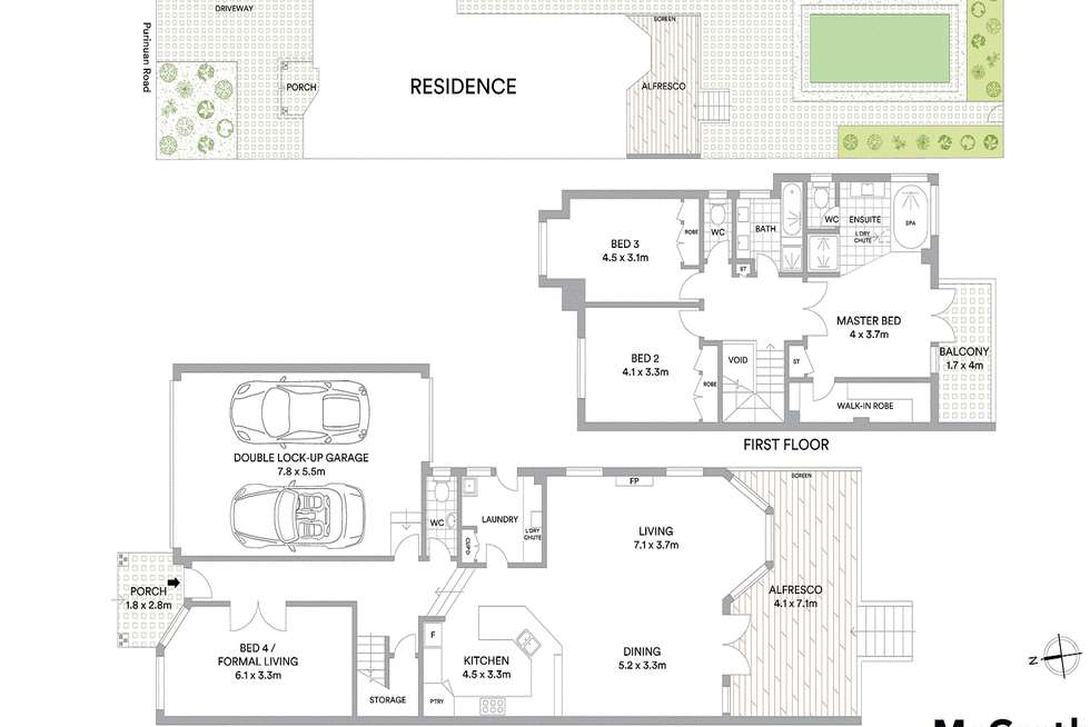 Floorplan of Homely house listing, 79A Purinuan Road, Reservoir VIC 3073