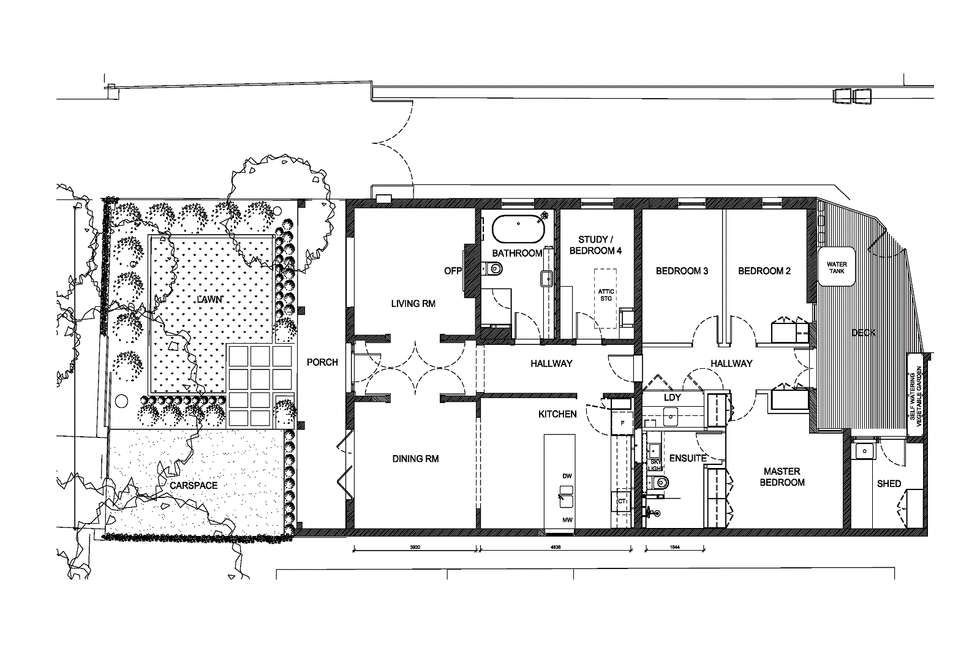 Floorplan of Homely house listing, 1/185 Inkerman Street, St Kilda VIC 3182
