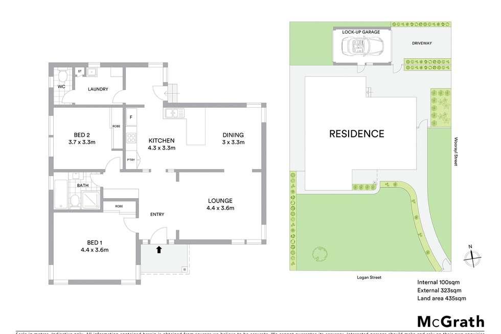 Floorplan of Homely house listing, 23 Logan Street, Hamlyn Heights VIC 3215